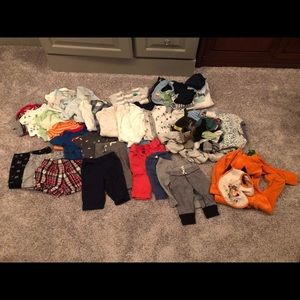 Boys 0-3 month lot of clothes